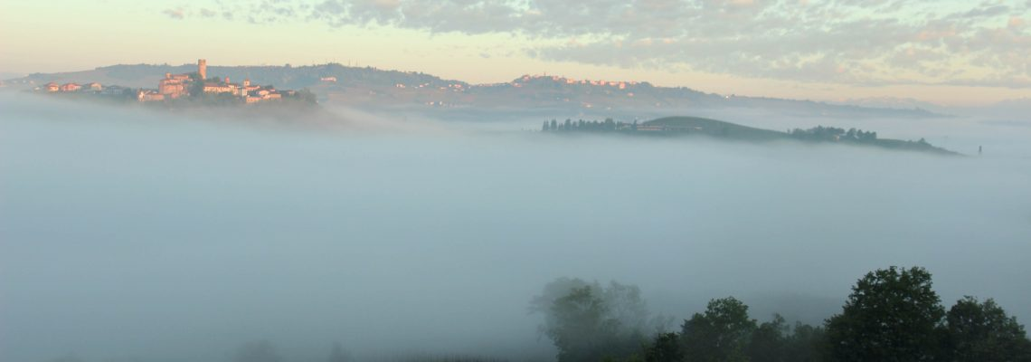 Fog in the Langhe